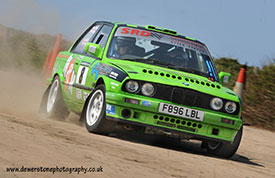 Martin Waters and Ben Purcell - 1st Trophy Rally