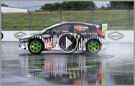 Ken Block's Gymkhana :: Don't try this at home... just turn up the volume!